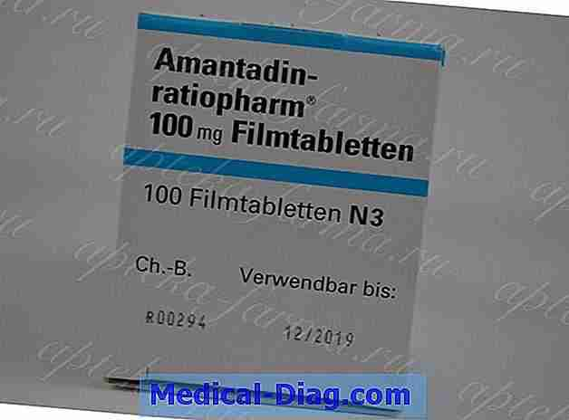 Amantadin: flu / parkinsons stof i behandling for traumatisk hjerneskade