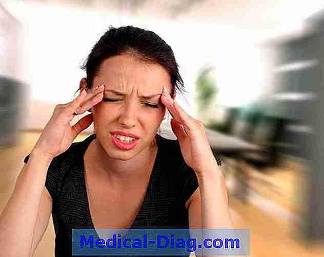 for lavt blodtryk hovedpine
