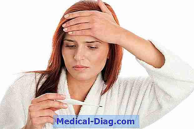måle feber under armen