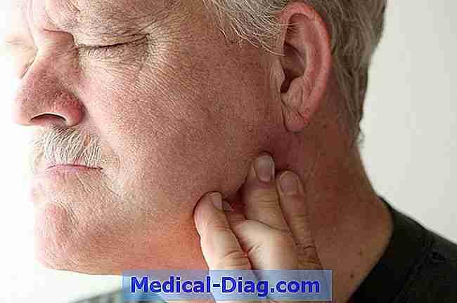 smerter i kæben og nakken